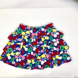 NWOT- HANNA ANDERSSON LAYERED FLOWER SKIRT SZ 130